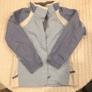 North face haven't girls size large rain coat